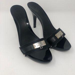Dior Black Slip on Shoes size 40